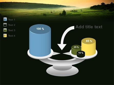 Evening View PowerPoint Template Slide 10