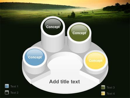 Evening View PowerPoint Template Slide 12