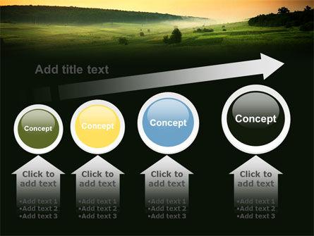 Evening View PowerPoint Template Slide 13