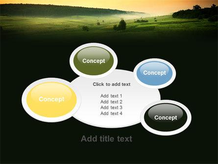 Evening View PowerPoint Template Slide 17
