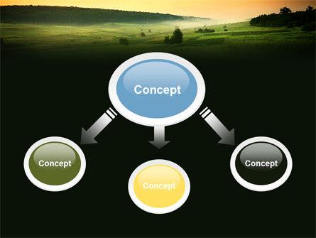 Evening View PowerPoint Template, Slide 4, 04783, Nature & Environment — PoweredTemplate.com