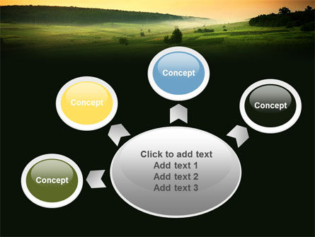 Evening View PowerPoint Template Slide 7