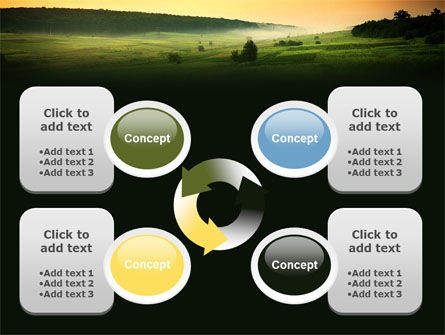 Evening View PowerPoint Template Slide 9