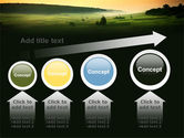 Evening View PowerPoint Template#13