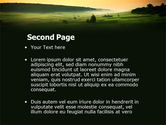 Evening View PowerPoint Template#2