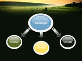 Evening View PowerPoint Template#4