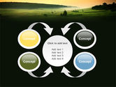 Evening View PowerPoint Template#6