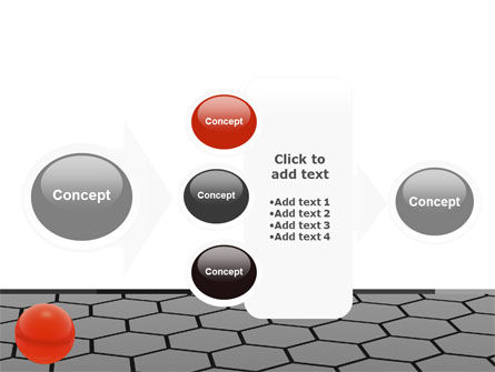Red Ball On Cells PowerPoint Template Slide 17
