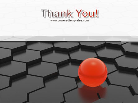 Red Ball On Cells PowerPoint Template Slide 20