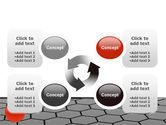 Red Ball On Cells PowerPoint Template#9