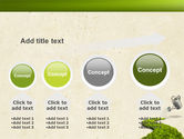 Green Path PowerPoint Template#13