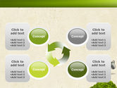 Green Path PowerPoint Template#9