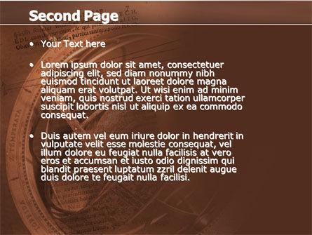 Galileo Galilei PowerPoint Template, Slide 2, 04788, Education & Training — PoweredTemplate.com