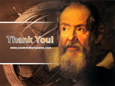Galileo Galilei PowerPoint Template Slide 20