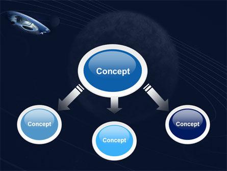 Spaceship PowerPoint Template Slide 4