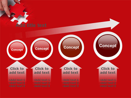 Red Piece PowerPoint Template Slide 13
