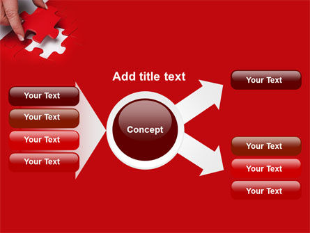 Red Piece PowerPoint Template Slide 14