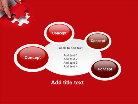 Red Piece PowerPoint Template Slide 16