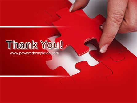 Red Piece PowerPoint Template Slide 20