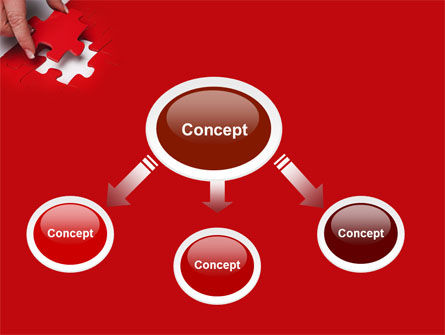 Red Piece PowerPoint Template Slide 4