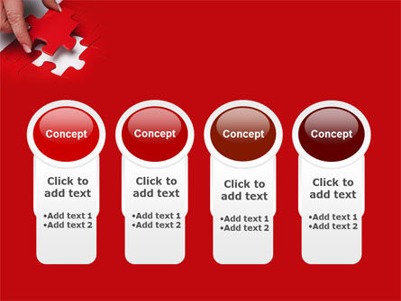 Red Piece PowerPoint Template Slide 5
