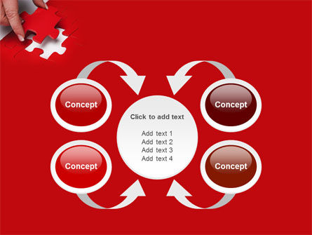 Red Piece PowerPoint Template Slide 6