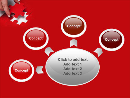 Red Piece PowerPoint Template Slide 7