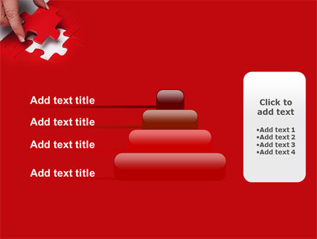 Red Piece PowerPoint Template Slide 8