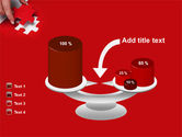 Red Piece PowerPoint Template#10