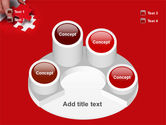 Red Piece PowerPoint Template#12