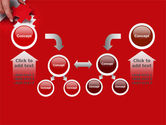 Red Piece PowerPoint Template#19