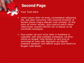 Red Piece PowerPoint Template#2