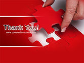 Red Piece PowerPoint Template#20