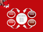 Red Piece PowerPoint Template#6