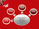 Red Piece PowerPoint Template#7