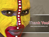Tribal Traditions PowerPoint Template#20