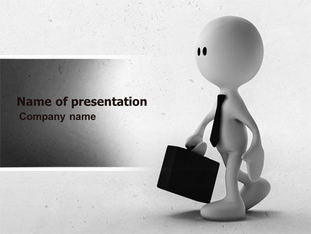 Business Man PowerPoint Template, 04793, Business — PoweredTemplate.com