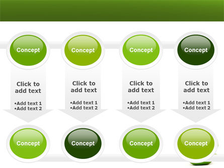 Sliced Green Apple PowerPoint Template Slide 18