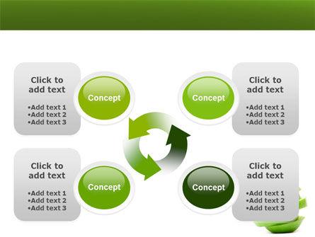 Sliced Green Apple PowerPoint Template Slide 9
