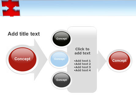 Destination Puzzle PowerPoint Template Slide 17