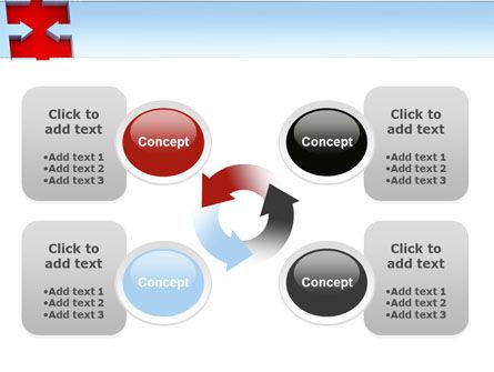 Destination Puzzle PowerPoint Template Slide 9