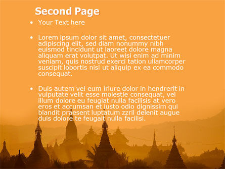 Burma PowerPoint Template, Slide 2, 04798, Flags/International — PoweredTemplate.com