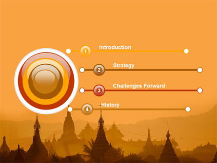 Burma PowerPoint Template, Slide 3, 04798, Flags/International — PoweredTemplate.com