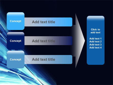 Blue Splash PowerPoint Template Slide 12