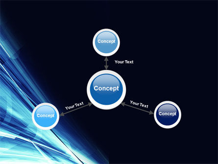 Blue Splash PowerPoint Template Slide 14