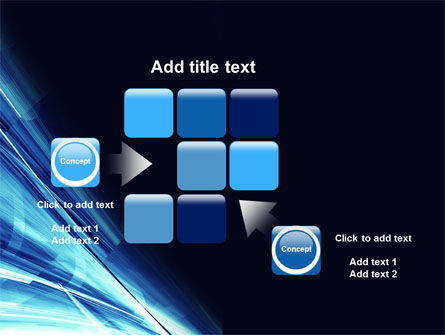 Blue Splash PowerPoint Template Slide 16