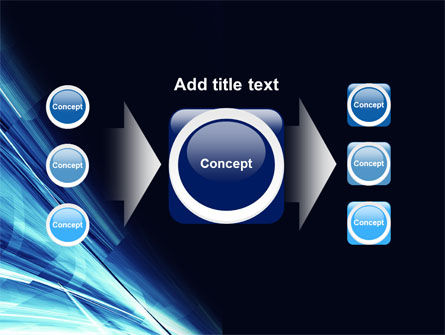 Blue Splash PowerPoint Template Slide 17