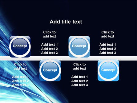Blue Splash PowerPoint Template Slide 19
