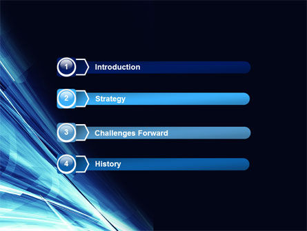 Blue Splash PowerPoint Template Slide 3
