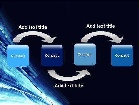 Blue Splash PowerPoint Template, Slide 4, 04799, Abstract/Textures — PoweredTemplate.com